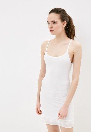Сорочка ночная Infinity Lingerie. Цвет: белый