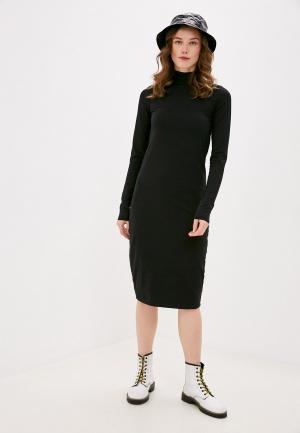 Платье Outhorn. Цвет: черный