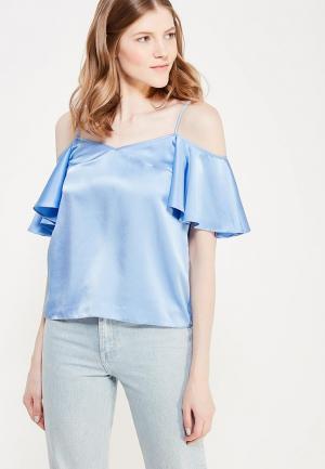 Топ Soeasy Bari Shiny Blue. Цвет: голубой