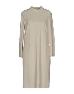 Платье миди ANGEL SCHLESSER. Цвет: слоновая кость