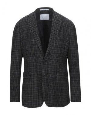 Пиджак AGLINI. Цвет: темно-коричневый
