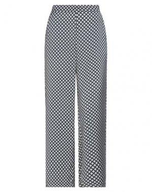 Повседневные брюки ICHI. Цвет: темно-синий
