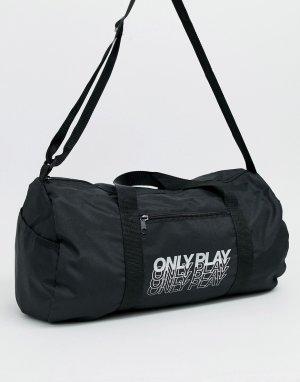 Черная спортивная сумка -Черный Only Play