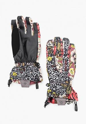Перчатки горнолыжные Burton WB PROFILE GLV. Цвет: разноцветный