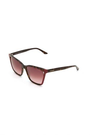 Очки солнцезащитные Guy Laroche. Цвет: 593 черепаховый, бордовый