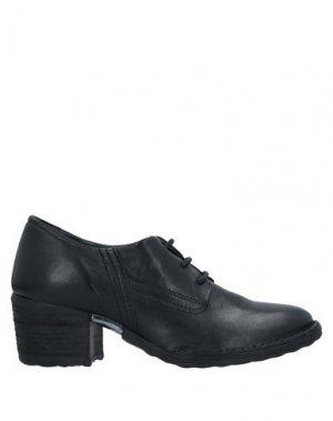 Обувь на шнурках KHRIO'. Цвет: черный
