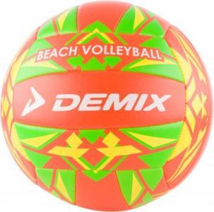 Мяч для пляжного волейбола Demix. Цвет: оранжевый