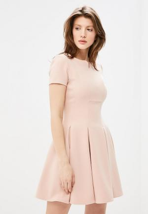 Платье Love Republic. Цвет: бежевый