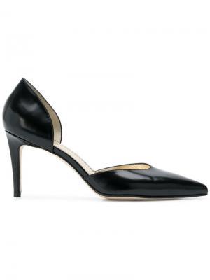 Туфли с вырезами по боками Antonio Barbato. Цвет: черный