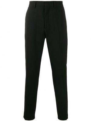 Классические брюки строгого кроя McQ Swallow. Цвет: черный