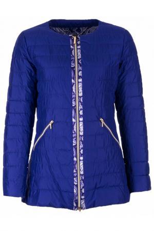 Куртка FRANCESCA PICCINI. Цвет: синий
