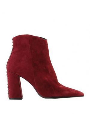 Полусапоги и высокие ботинки BRUNO PREMI. Цвет: пурпурный