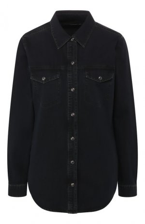 Хлопковая рубашка J Brand. Цвет: чёрный