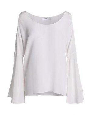 Блузка BAILEY 44. Цвет: белый