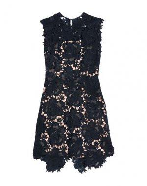 Короткое платье CATHERINE DEANE. Цвет: темно-синий