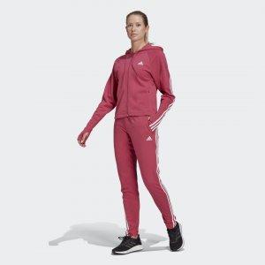 Cпортивный костюм Slim adidas. Цвет: розовый