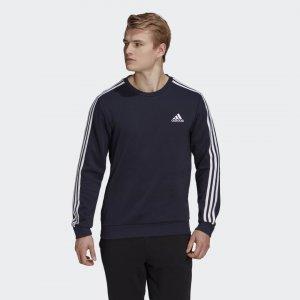 Джемпер Essentials 3-Stripes Sport Inspired adidas. Цвет: черный