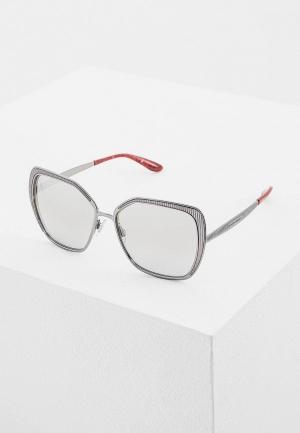 Очки солнцезащитные Dolce&Gabbana DG2197 04/6V. Цвет: серебряный