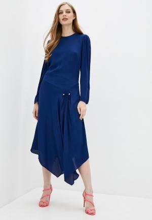 Платье By Malene Birger ERIA. Цвет: синий