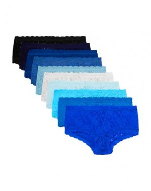Трусы HANKY PANKY. Цвет: синий