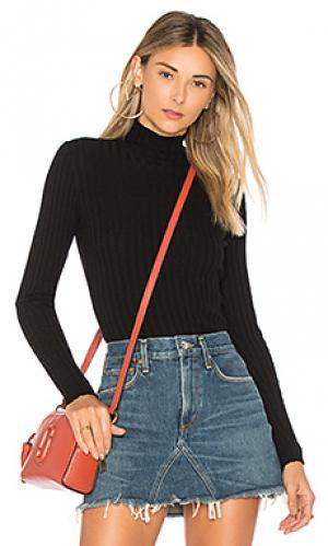 Пуловер с высоким воротником be fierce Tularosa. Цвет: черный