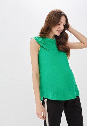 Блуза Очаровательная Адель. Цвет: зеленый