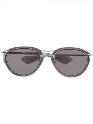 Солнцезащитные очки Nacht-two Dita Eyewear. Цвет: серый