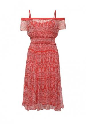 Платье Kookai. Цвет: коричневый