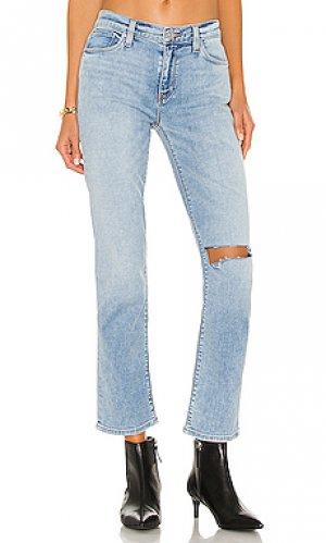 Прямой nico Hudson Jeans. Цвет: синий