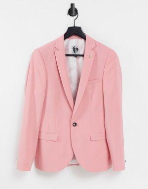 Розовый пиджак -Розовый цвет Twisted Tailor