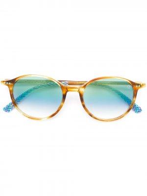 Солнцезащитные очки Pearl District Etnia Barcelona. Цвет: оранжевый