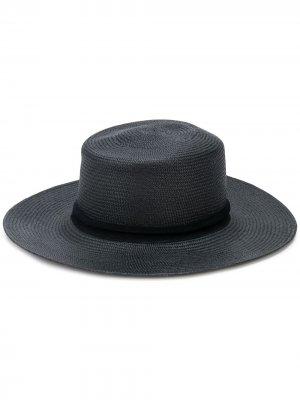 Шляпа с широкими полями THE FREYA BRAND. Цвет: черный