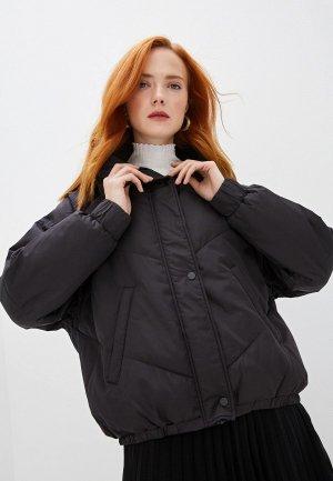 Куртка утепленная Ba&Sh. Цвет: черный