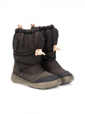 Сапоги со шнурком Camper Kids. Цвет: серый