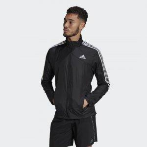 Олимпийка Marathon 3-Stripes Performance adidas. Цвет: черный