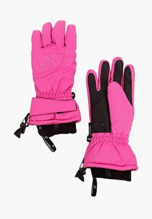 Перчатки 4F. Цвет: розовый