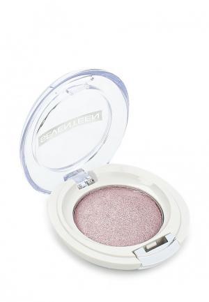 Тени для век Seventeen компактные, тон 01 Extra Sparkle Shadow розовые. Цвет: розовый