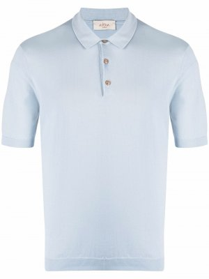 Рубашка поло Altea. Цвет: синий