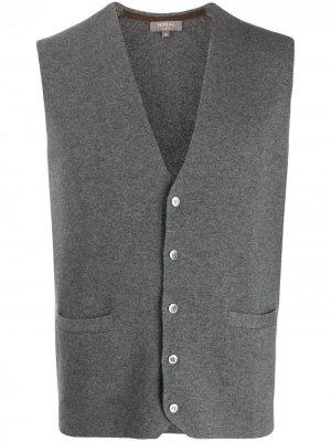 Кашемировый жилет Carnaby N.Peal. Цвет: серый