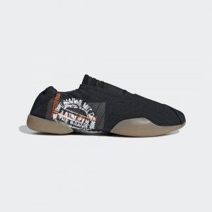 Кроссовки-слипоны Taekwondo Originals adidas. Цвет: черный