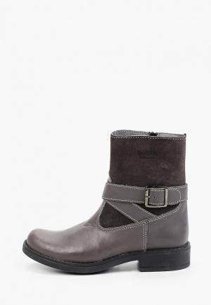 Ботинки Gulliver. Цвет: серый