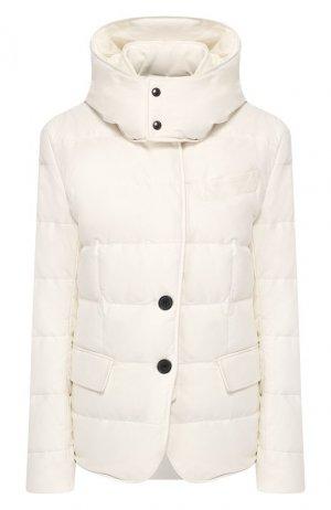 Кожаная куртка Tom Ford. Цвет: белый