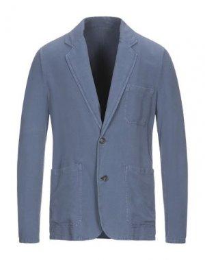 Пиджак ROCHAS. Цвет: грифельно-синий