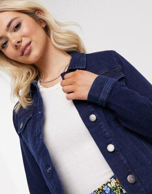 Синяя джинсовая куртка -Синий JDY