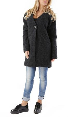 Пальто 525. Цвет: dark gray