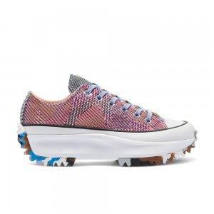 Knit Mashup Run Star Hike Low Top Converse. Цвет: мульти