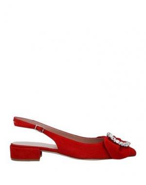 Туфли CALPIERRE. Цвет: красный
