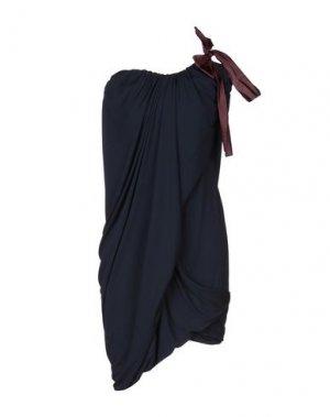 Короткое платье ANDREAS KRONTHALER x VIVIENNE WESTWOOD. Цвет: темно-синий