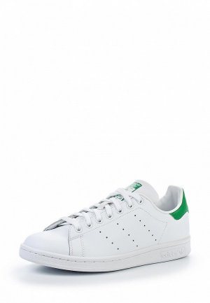 Кеды adidas Originals STAN SMITH. Цвет: белый