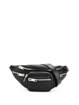 Поясная мини-сумка Attica Alexander Wang. Цвет: черный